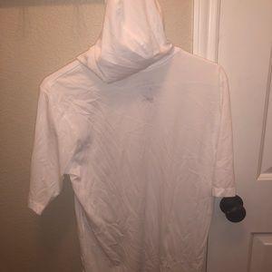 White Hooded Nike Shirt